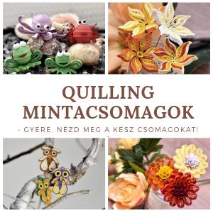QuillingShop - Magazin online pentru benzi de hârtie Quilling, instrumente și modele