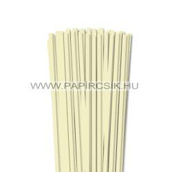 Vanilia, 6mm-es quilling papírcsík (90db, 49cm)