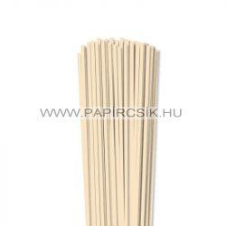 Krém, 4mm-es quilling papírcsík (110db, 49cm)