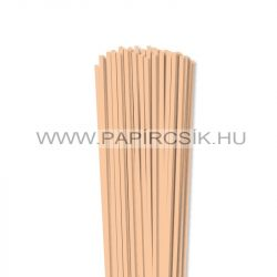 Testszín/Barack, 4mm-es quilling papírcsík (110db, 49cm)