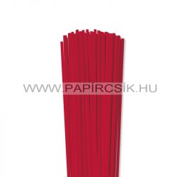 Élénk Piros, 4mm-es quilling papírcsík (110db, 49cm)