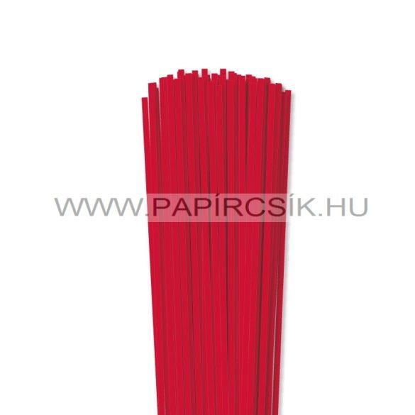 Piros, 4mm-es quilling papírcsík (110db, 49cm)
