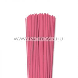 Közép Rózsaszín, 3mm-es quilling papírcsík (120db, 49cm)