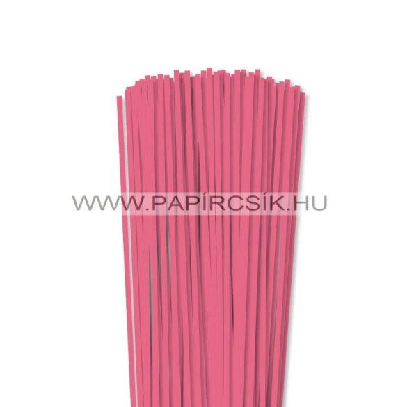 Közép Rózsaszín, 4mm-es quilling papírcsík (110db, 49cm)