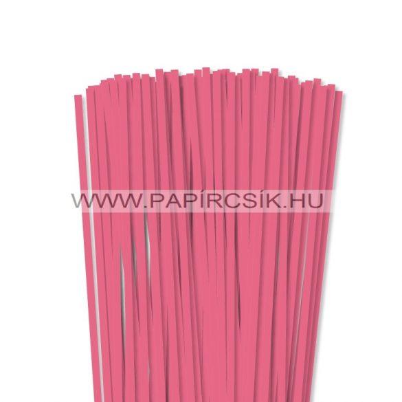 Közép Rózsaszín, 6mm-es quilling papírcsík (90db, 49cm)