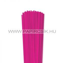 Pink, 4mm-es quilling papírcsík (110db, 49cm)