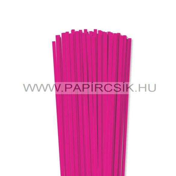 Pink, 5mm-es quilling papírcsík (100db, 49cm)