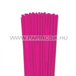 Pink, 6mm-es quilling papírcsík (90db, 49cm)