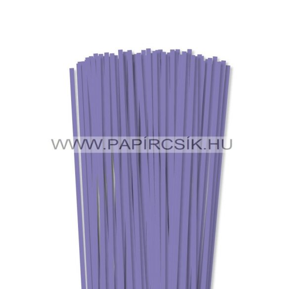 Liláskék, 5mm-es quilling papírcsík (100db, 49cm)