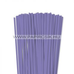 Liláskék, 6mm-es quilling papírcsík (90db, 49cm)