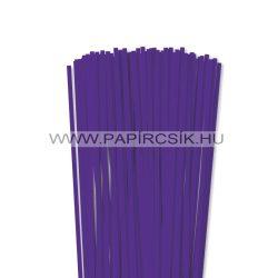 Ibolya, 5mm-es quilling papírcsík (100db, 49cm)