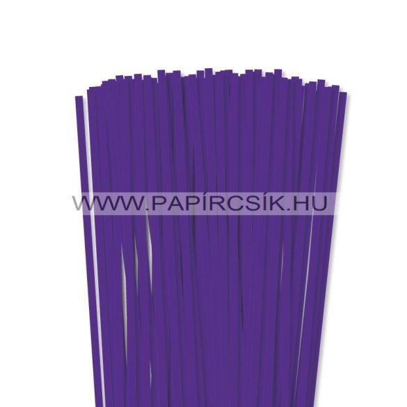 Ibolya, 6mm-es quilling papírcsík (90db, 49cm)