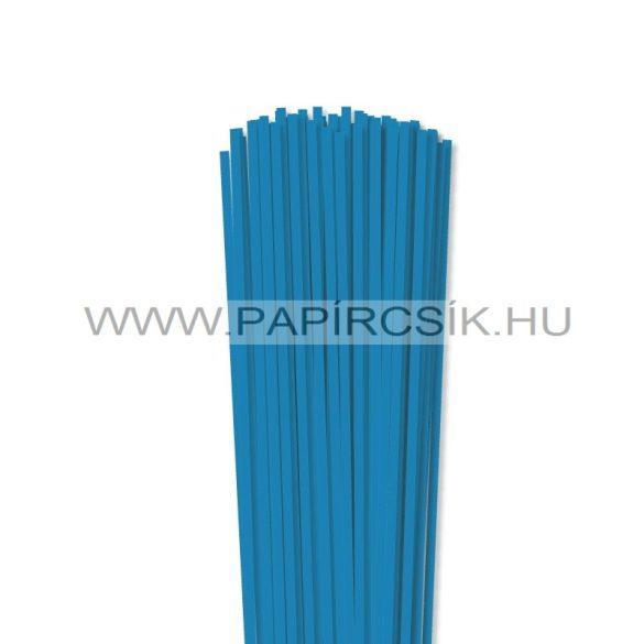 Kék, 4mm-es quilling papírcsík (110db, 49cm)