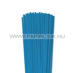Kék, 5mm-es quilling papírcsík (100db, 49cm)