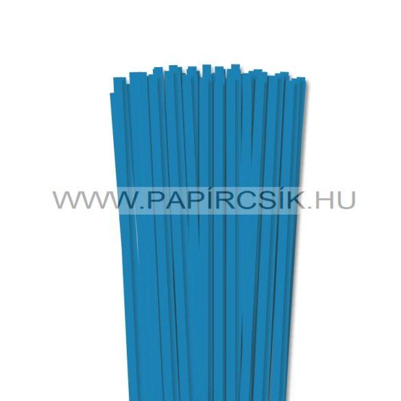 Kék, 6mm-es quilling papírcsík (90db, 49cm)