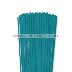 Türkiz, 5mm-es quilling papírcsík (100db, 49cm)