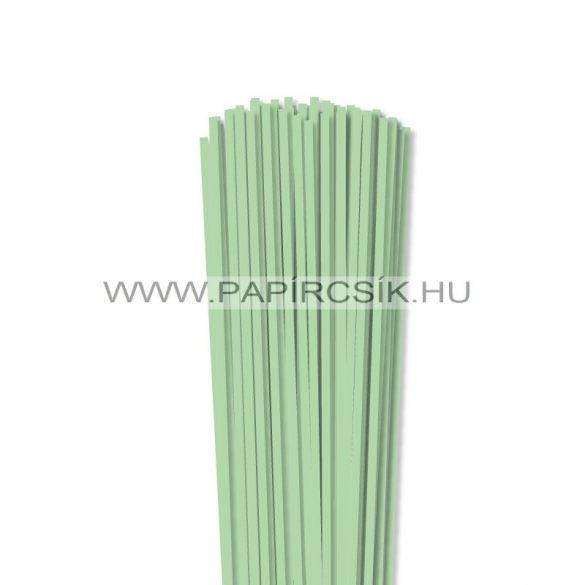 Középzöld, 4mm-es quilling papírcsík (110db, 49cm)