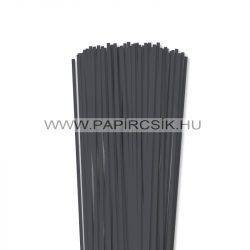 Antracit, 4mm-es quilling papírcsík (110db, 49cm)