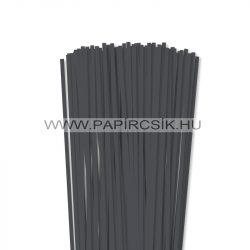 Antracit, 5mm-es quilling papírcsík (100db, 49cm)