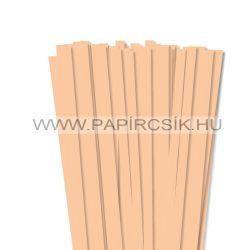 Testszín/Barack, 10mm-es quilling papírcsík (50db, 49cm)