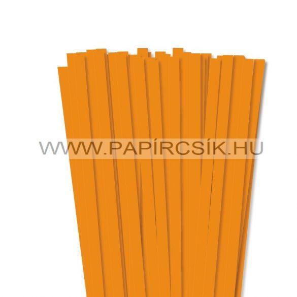 Okkersárga, 10mm-es quilling papírcsík (50db, 49cm)