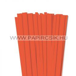 Narancs, 10mm-es quilling papírcsík (50db, 49cm)