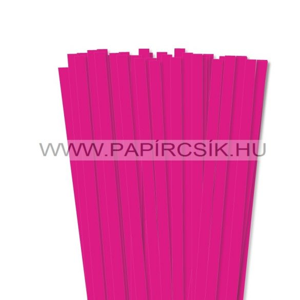 Pink, 10mm-es quilling papírcsík (50db, 49cm)