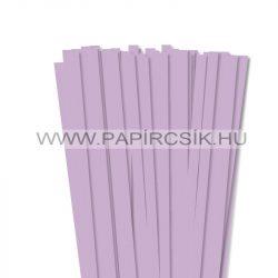 Lila, 10mm-es quilling papírcsík (50db, 49cm)