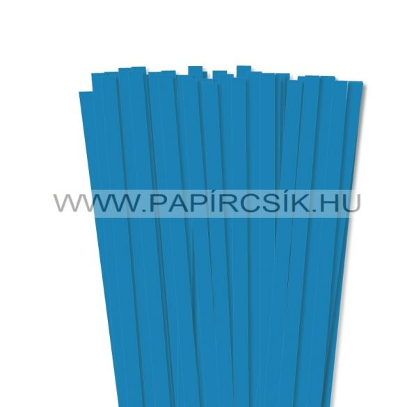 Kék, 10mm-es quilling papírcsík (50db, 49cm)