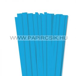 Pacifikkék, 10mm-es quilling papírcsík (50db, 49cm)