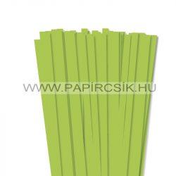 Májusizöld, 10mm-es quilling papírcsík (50db, 49cm)