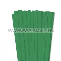 Mohazöld, 10mm-es quilling papírcsík (50db, 49cm)