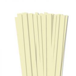 Vanília, 10mm-es quilling papírcsík (50db, 49cm)