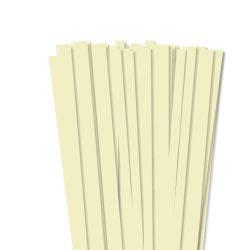 Vanilia, 10mm-es quilling papírcsík (50db, 49cm)
