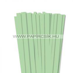 Középzöld, 10mm-es quilling papírcsík (50db, 49cm)