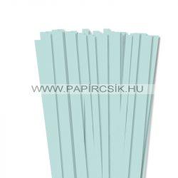 Halványkék, 10mm-es quilling papírcsík (50db, 49cm)