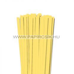 Kanárisárga, 10mm-es quilling papírcsík (50db, 49cm)