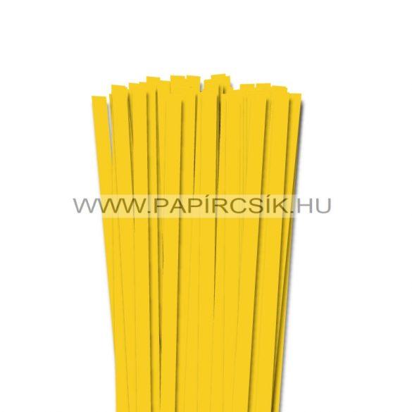 Banánsárga, 10mm-es quilling papírcsík (50db, 49cm)