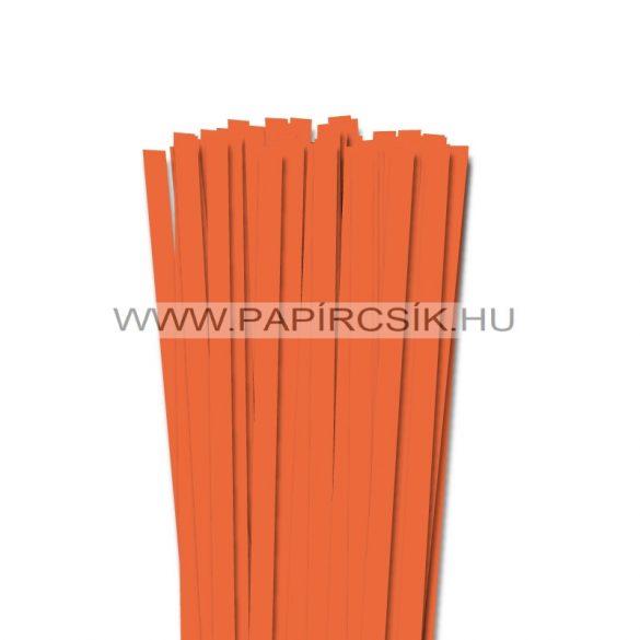 Világos narancs, 10mm-es quilling papírcsík (50db, 49cm)