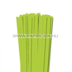 Tavaszi zöld, 10mm-es quilling papírcsík (50db, 49cm)