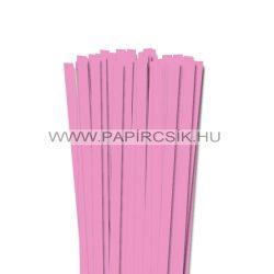Babarózsaszín, 10mm-es quilling papírcsík (50db, 49cm)