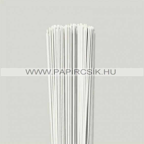 Gyöngyfehér (Törtfehér), 2mm-es quilling papírcsík (120db, 49cm)
