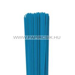 Kék, 2mm-es quilling papírcsík (120db, 49cm)