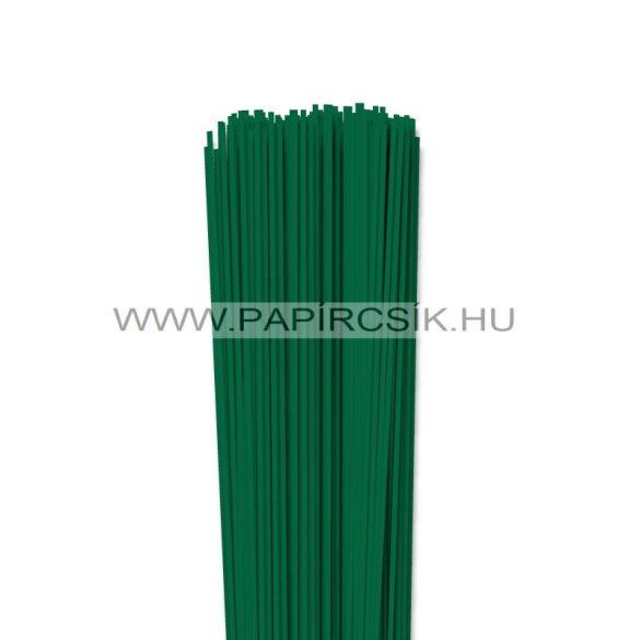 Sötétzöld, 2mm-es quilling papírcsík (120db, 49cm)