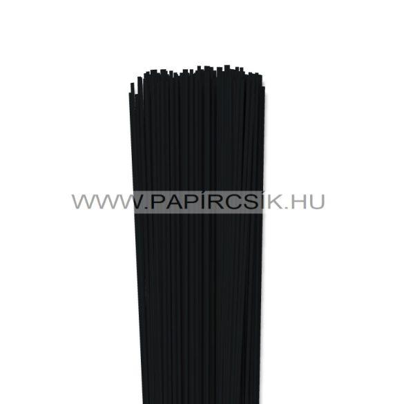 Fekete, 2mm-es quilling papírcsík (120db, 49cm)