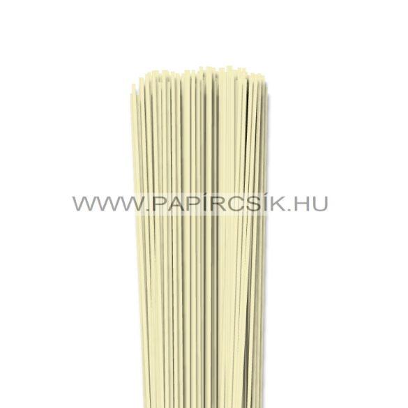 Vanilia, 2mm-es quilling papírcsík (120db, 49cm)
