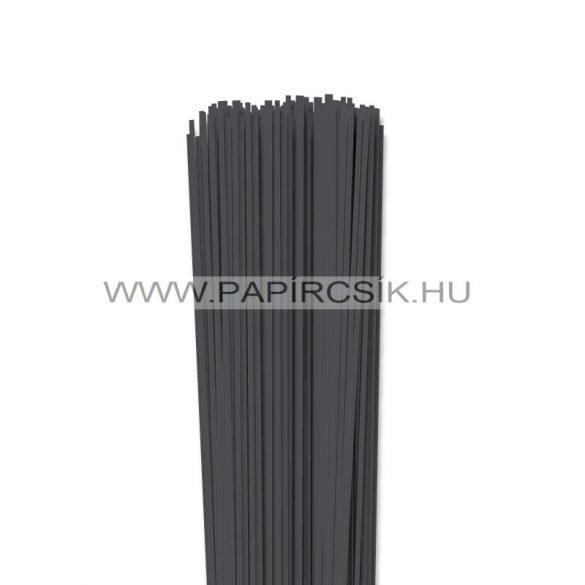 Antracit, 2mm-es quilling papírcsík (120db, 49cm)