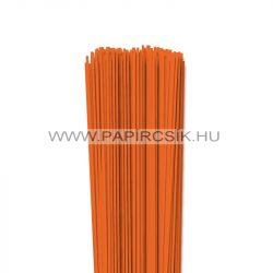 Világos narancs, 2mm-es quilling papírcsík (120db, 49cm)