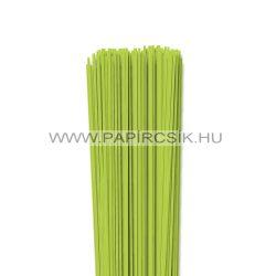 Tavaszi zöld, 2mm-es quilling papírcsík (120db, 49cm)