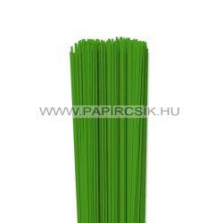 Zöld, 2mm-es quilling papírcsík (120db, 49cm)
